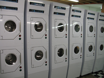 Double Stack Spin Rinse Dryers